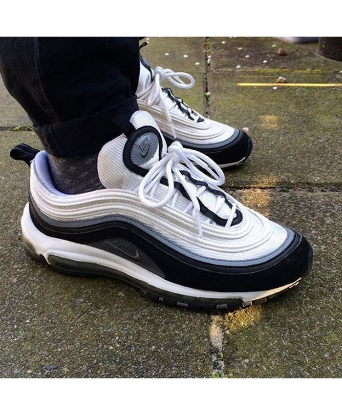Homme Nike Air Max 97 Playstation Blanc Noir