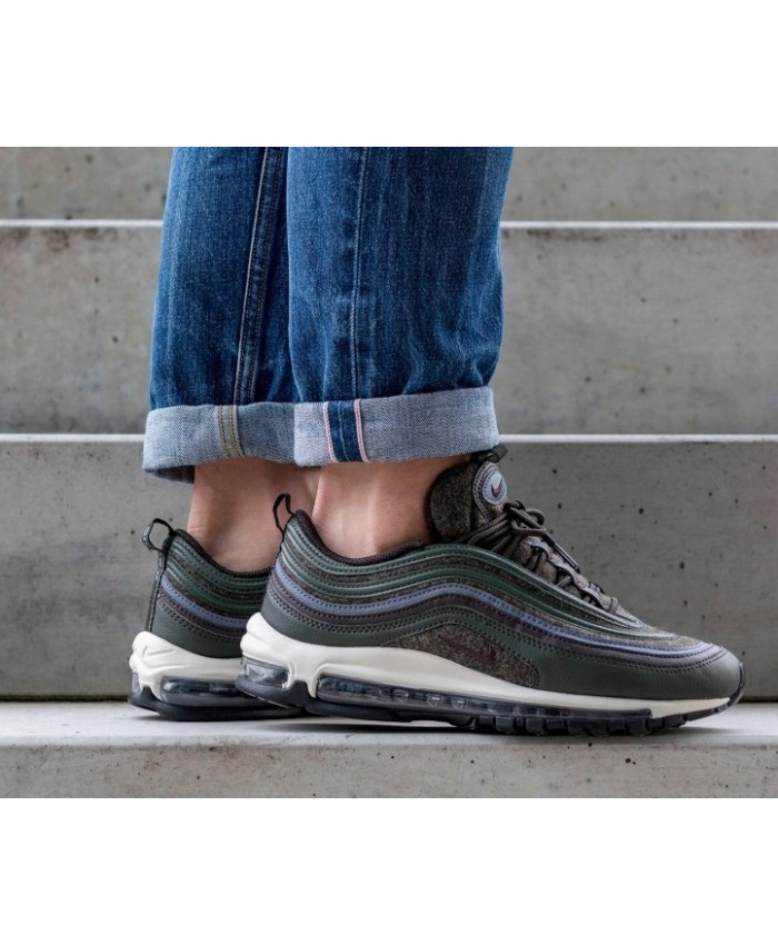 Homme Nike Air Max 97 Premium Carbon Brown