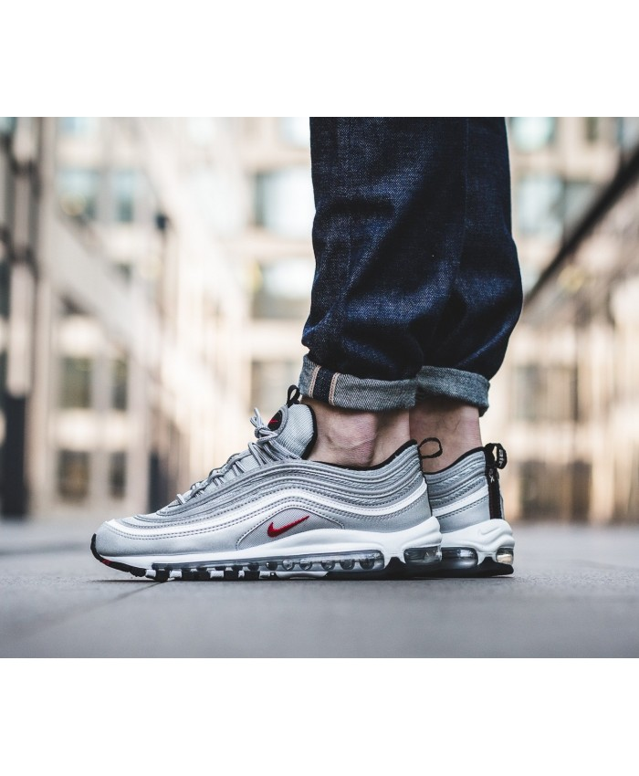 Homme Nike Air Max 97 Silver Bullet
