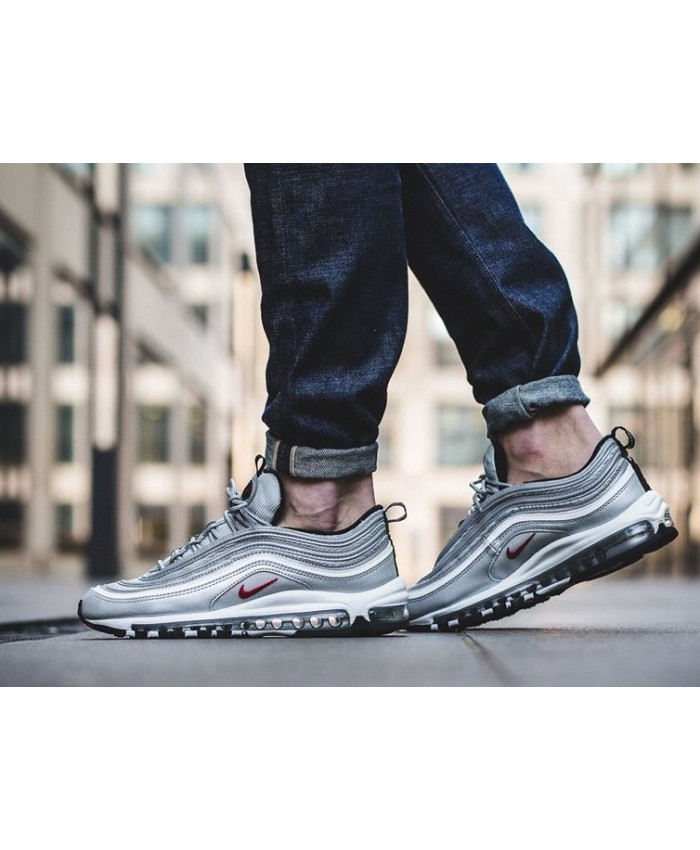 nike air max 97 silver bullet homme