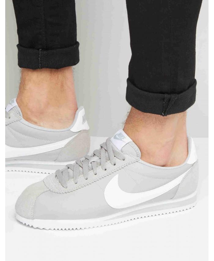 Homme Nike Classic Cortez Nylon Gris