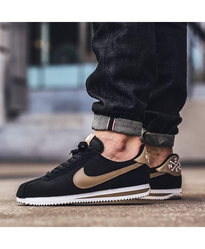 Homme Nike Cortez Basic Premium Noir Desert Camo Blanc