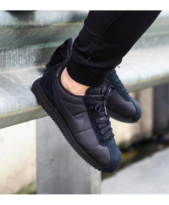 Homme Nike Cortez QS Noir