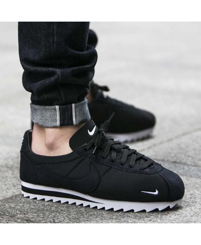 Homme Nike Cortez Shark Low SP Noir