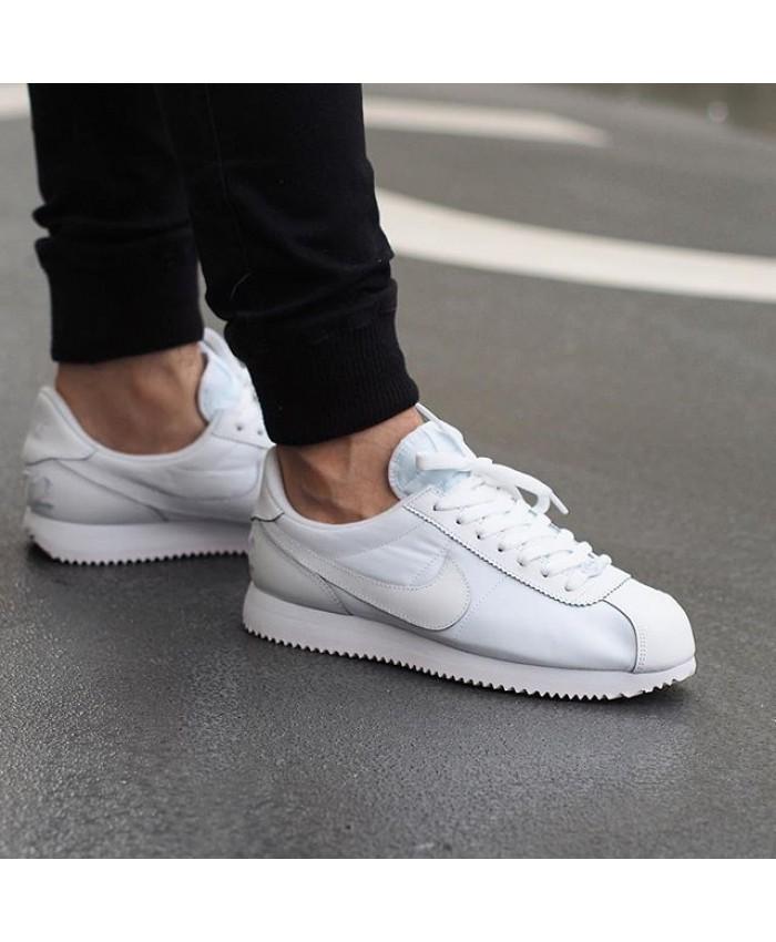 Homme Nike Cortez Tout Blanc