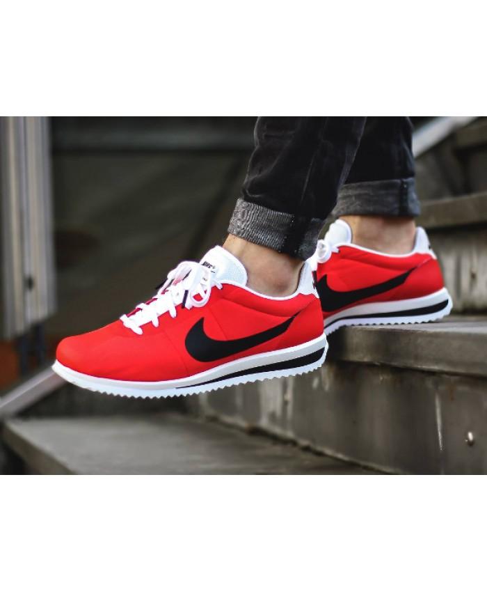 Homme Nike Cortez Ultra Rouge Noir