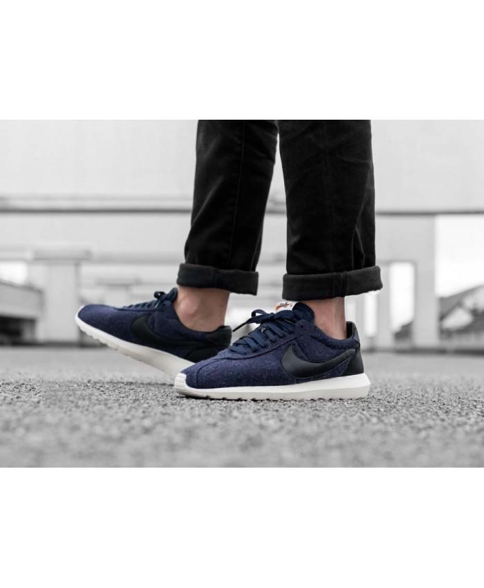 Homme Nike Roshe LD-1000 Bleu Noir
