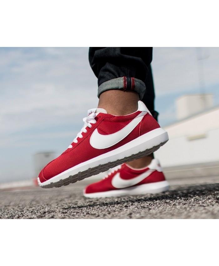 Homme Nike Roshe LD-1000 Rouge Blanc