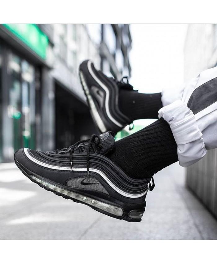 Homme Noir Blanc Nike Air Max 97