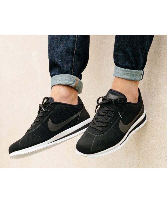 Homme Noir Blanc Nike Cortez Ultra Moire