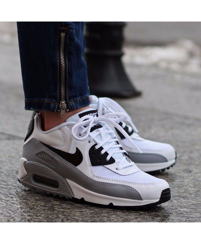 Nike Air Max 90 Essential Blanc Noir