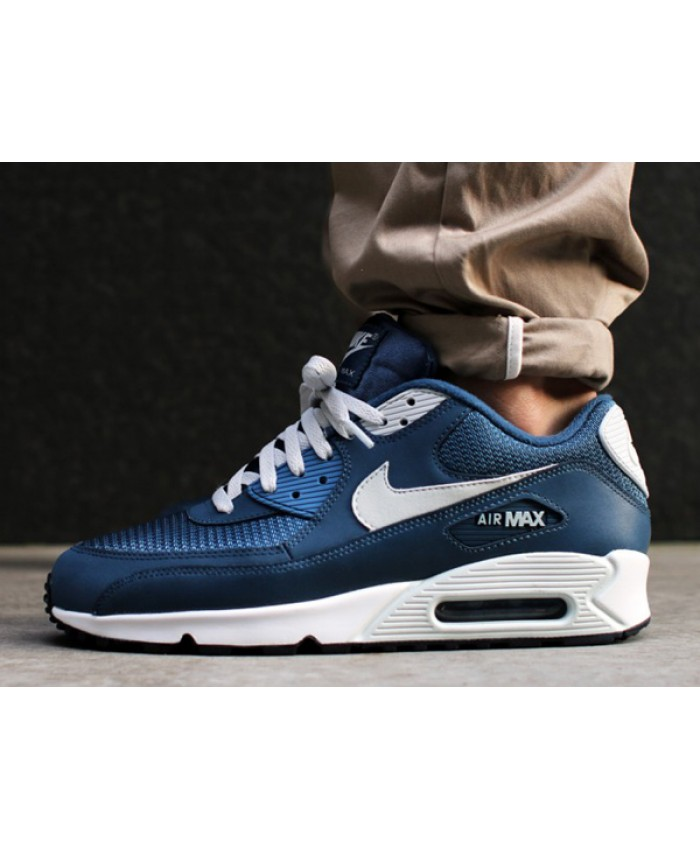 Nike Air Max 90 Essential Bleu Blanc
