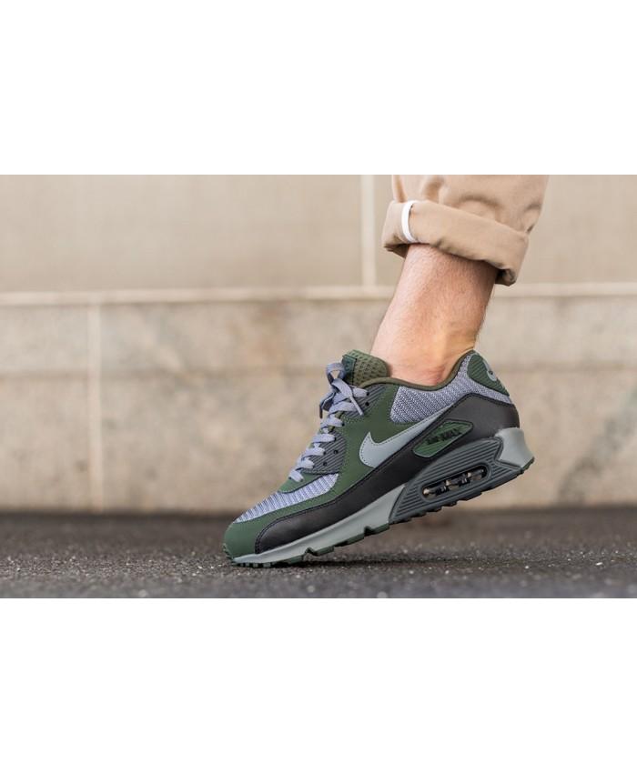 Nike Air Max 90 Essential Essential Carbone Vert