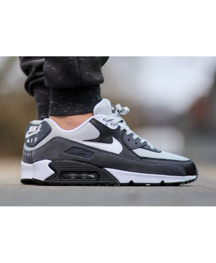 Nike Air Max 90 Essential Gris Blanc