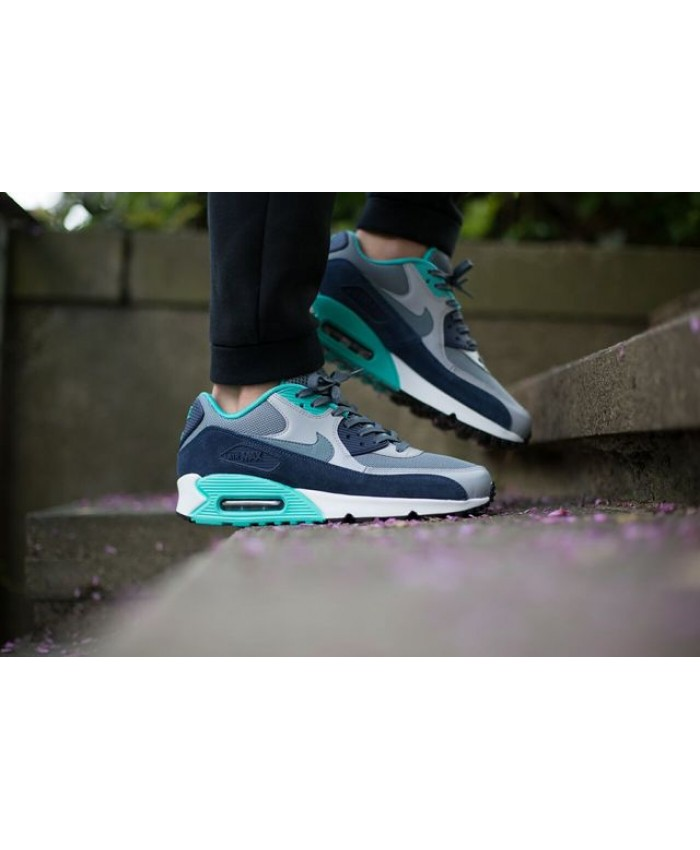 Nike Air Max 90 Essential Gris Bleu Graphite