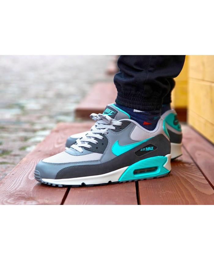 Nike Air Max 90 Essential Gris Vert