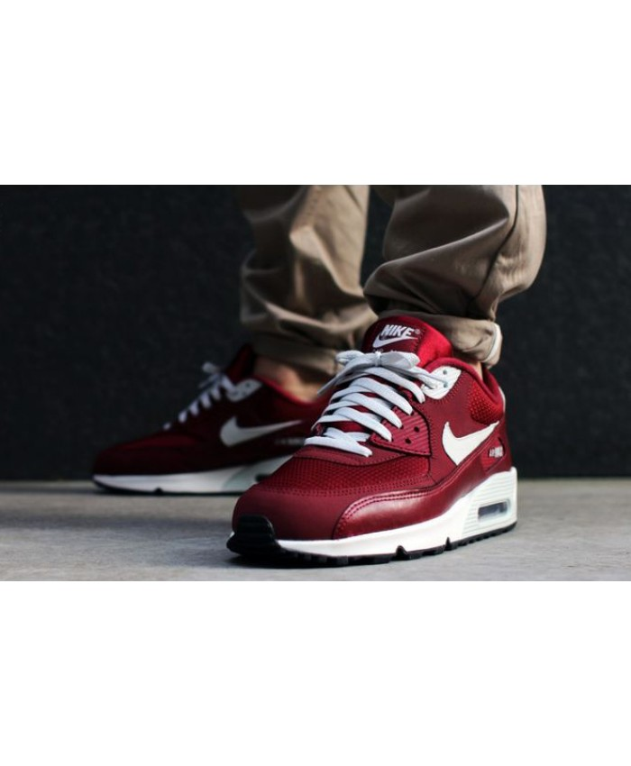 Nike Air Max 90 Essential Rouge et Blanc