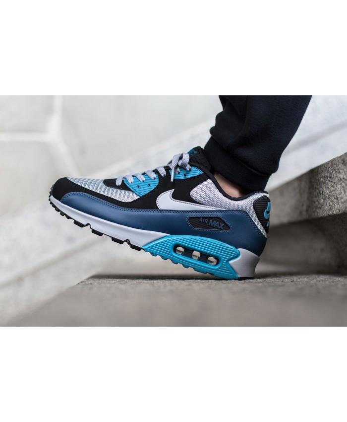 Nike Air Max 90 Essential Squadron Bleu Gris