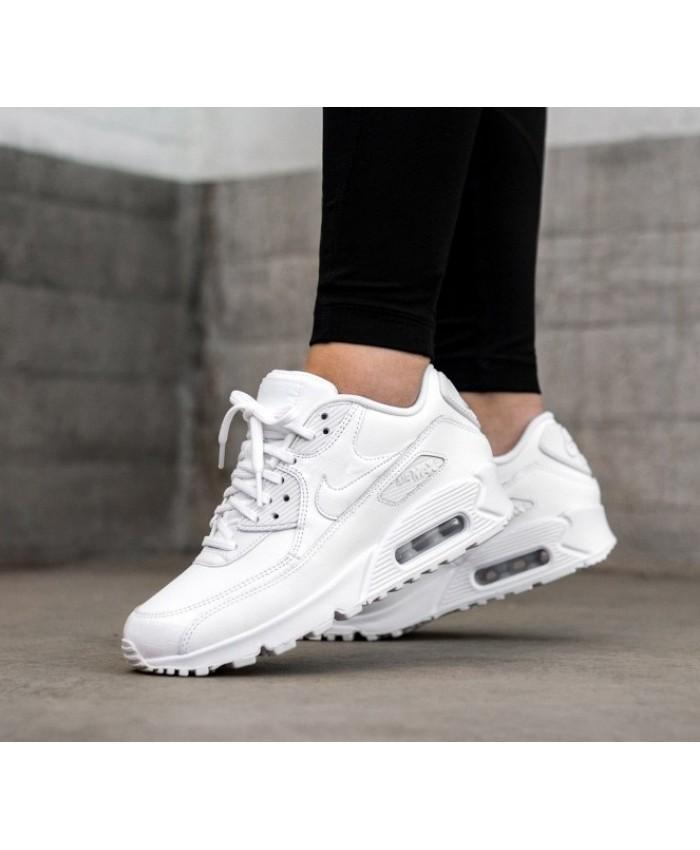 Nike Air Max 90 Femme Blanc