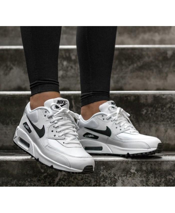 Nike Air Max 90 Femme Blanc Noir
