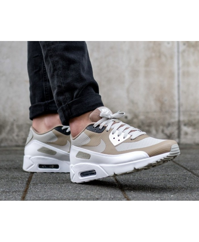 Nike Air Max 90 Ultra 2.0 Essential Pale Gris Kaki Blanc