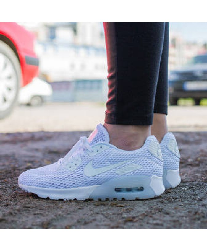 Nike Air Max 90 Ultra Breathe Blanc
