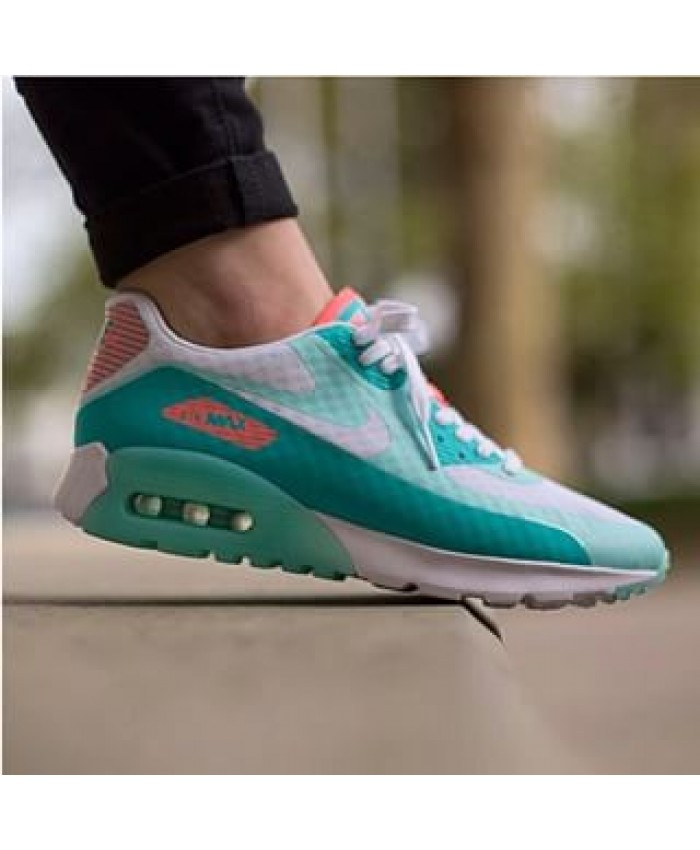 Nike Air Max 90 Ultra Breathe Blanc Vert
