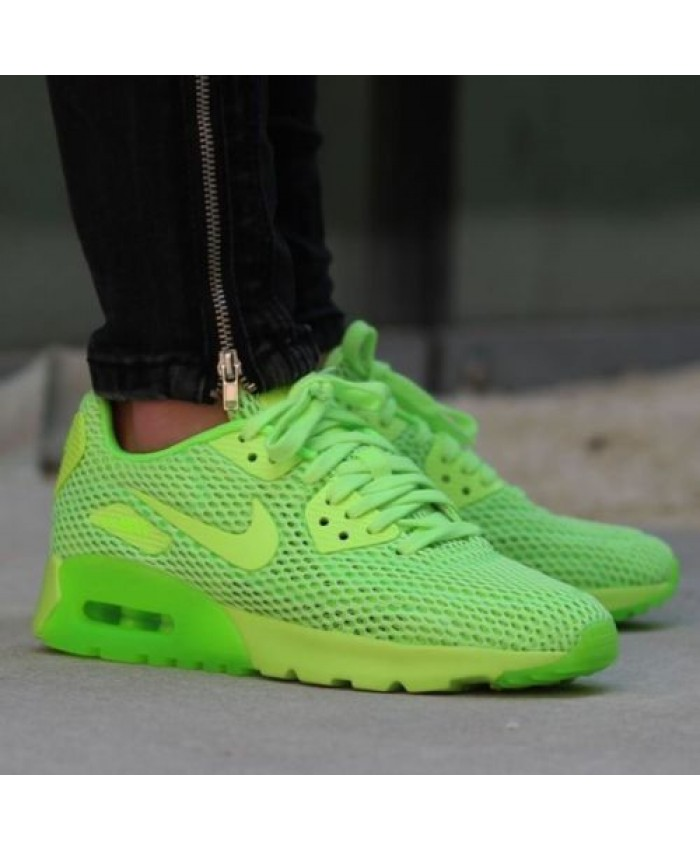 Nike Air Max 90 Ultra Breathe Electric Vert