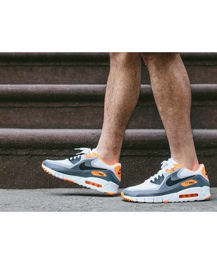 Nike Air Max 90 Ultra Breathe Gris Orange