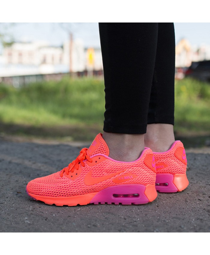 Nike Air Max 90 Ultra Breathe Rose Orange