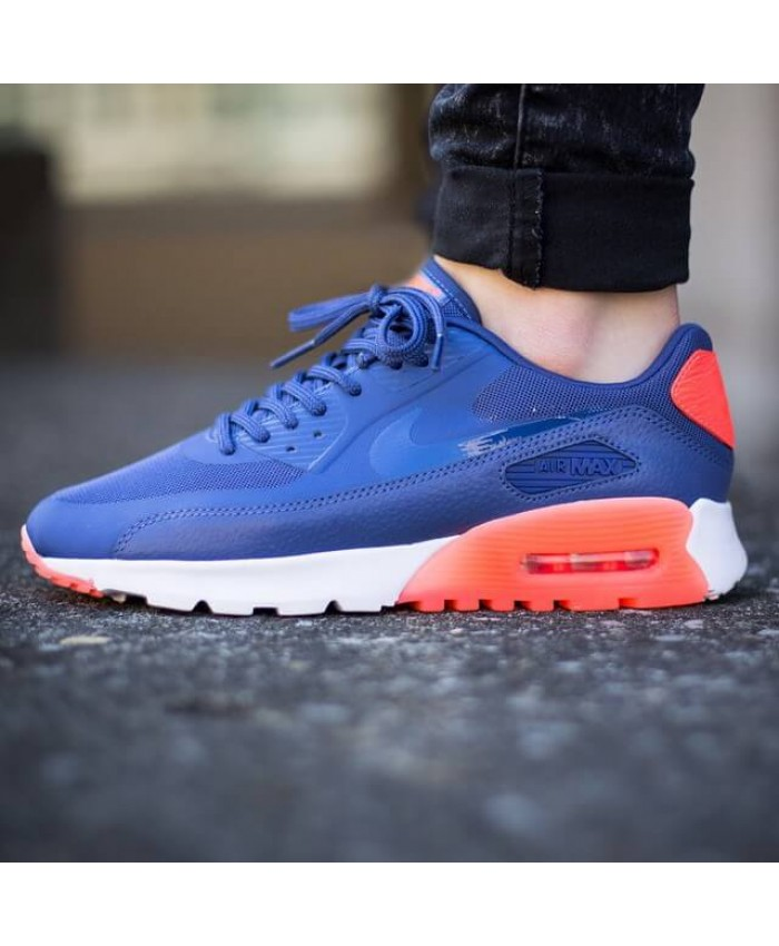 Nike Air Max 90 Ultra Essential Bleu Chaussures