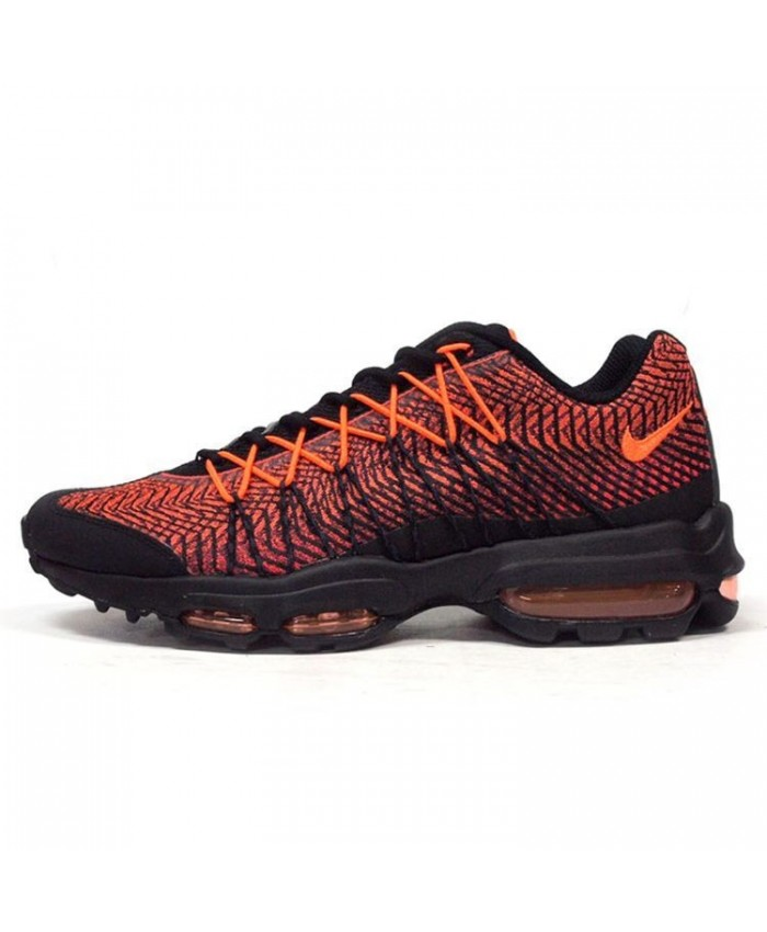 Nike Air Max 95 Ultra Jacquard Noir Orange