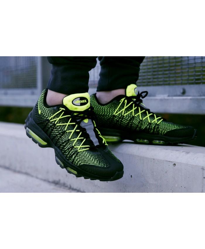 Nike Air Max 95 Ultra Jacquard Noir Vert