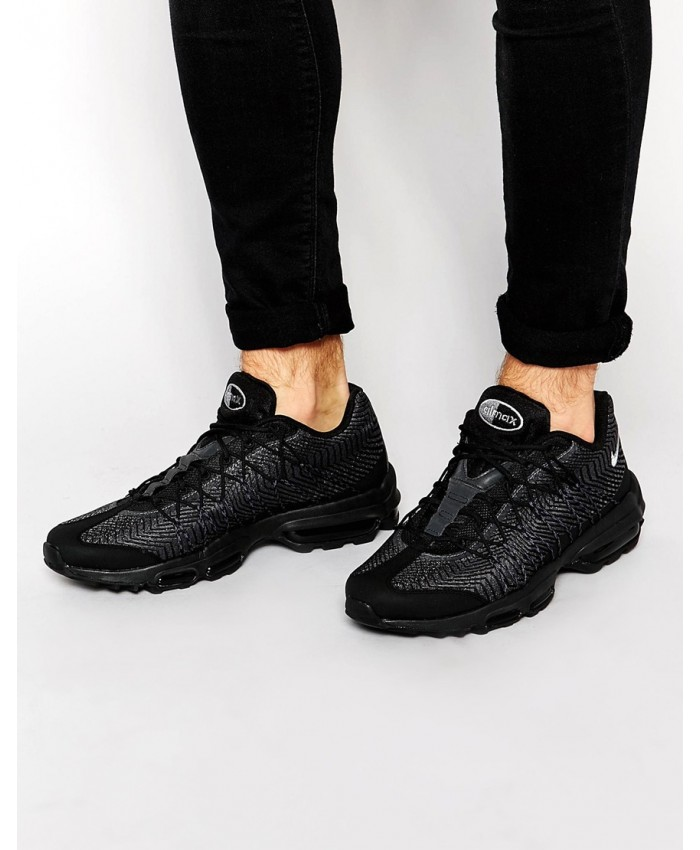 Nike Air Max 95 Ultra Jacquard tout Noir