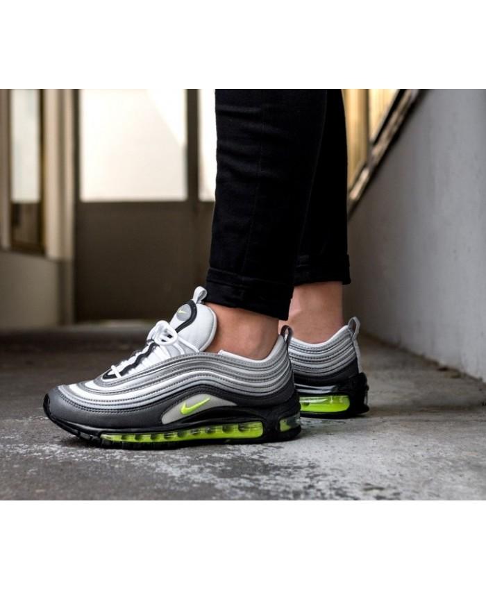 Nike Air Max 97 Femme Gris Noir Vert