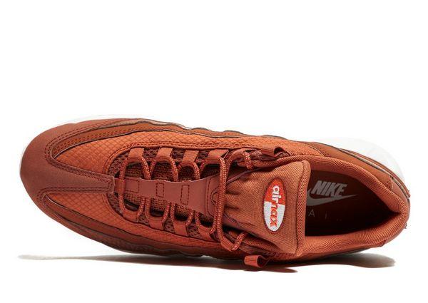 Femme Nike Air Max 95 Orange Blanc