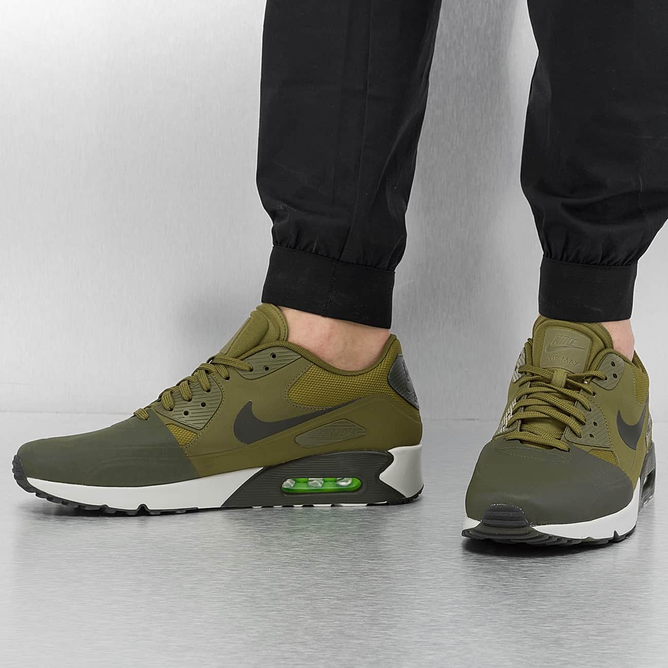 Homme Homme Homme Nike Air Max 90 Ultra Militia Vert 51afb4