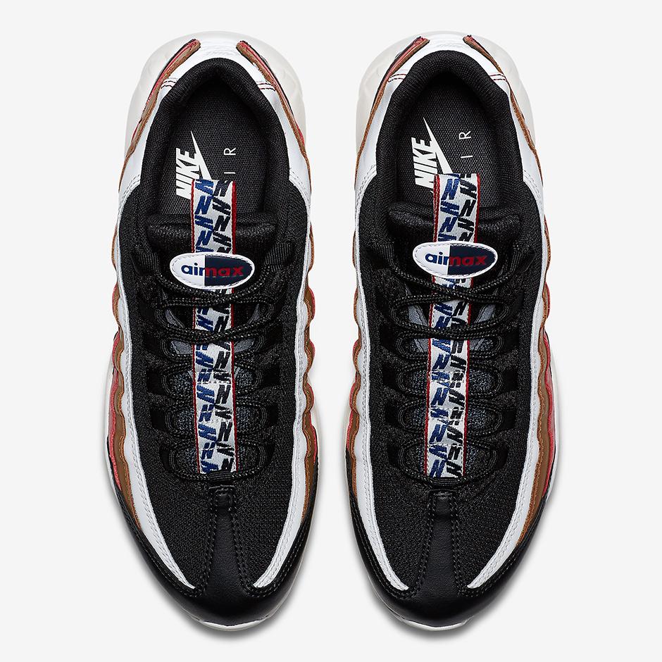 promo code 31e90 7ca4b Homme 95 Max Bleu Pull Air Nike Tab Marron Rouge rqanPr