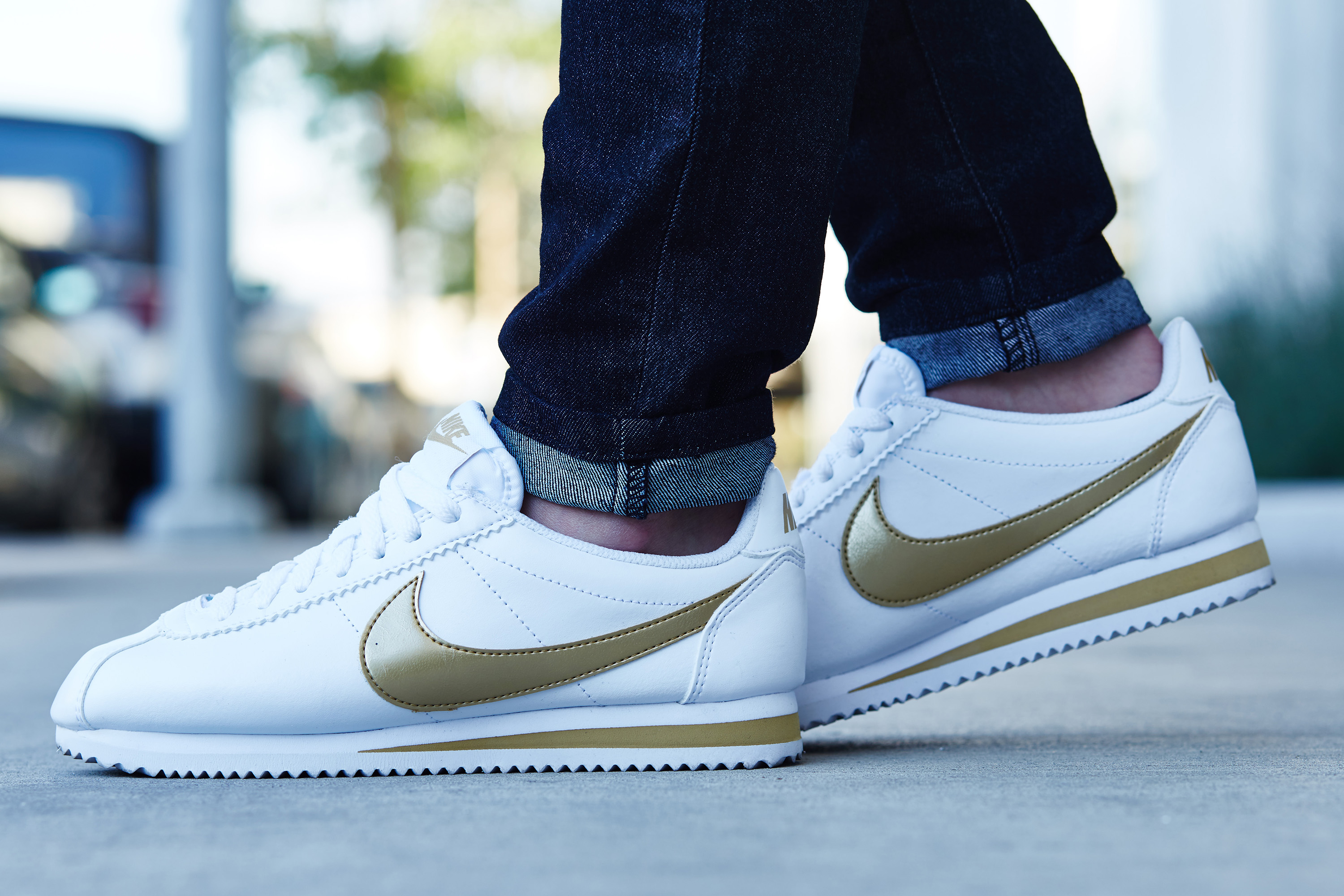 official photos 37d5b 3a6c9 inexpensive nike cortez femme or 5ce7b ff518  switzerland nike cortez  blanche or 39375 55d2c