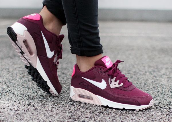 air max 90 essential femme bordeaux