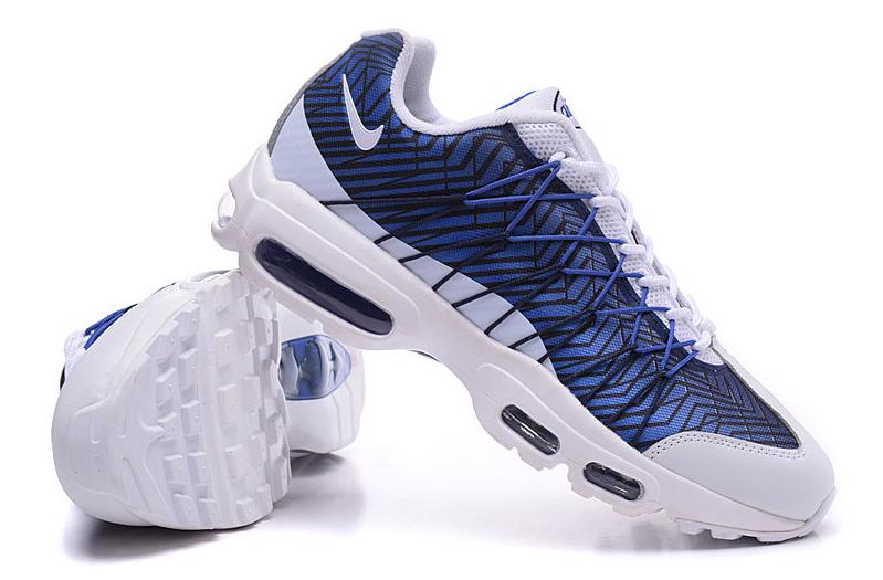 air max 95 ultra blanche et bleue