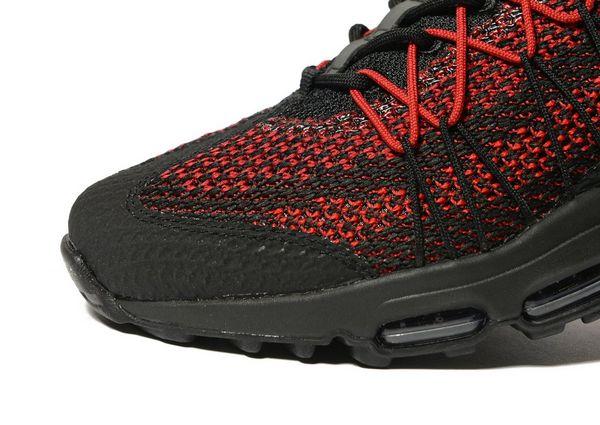 Air Max Rouge 95 Noir Jacquard Nike Ultra FT70q7
